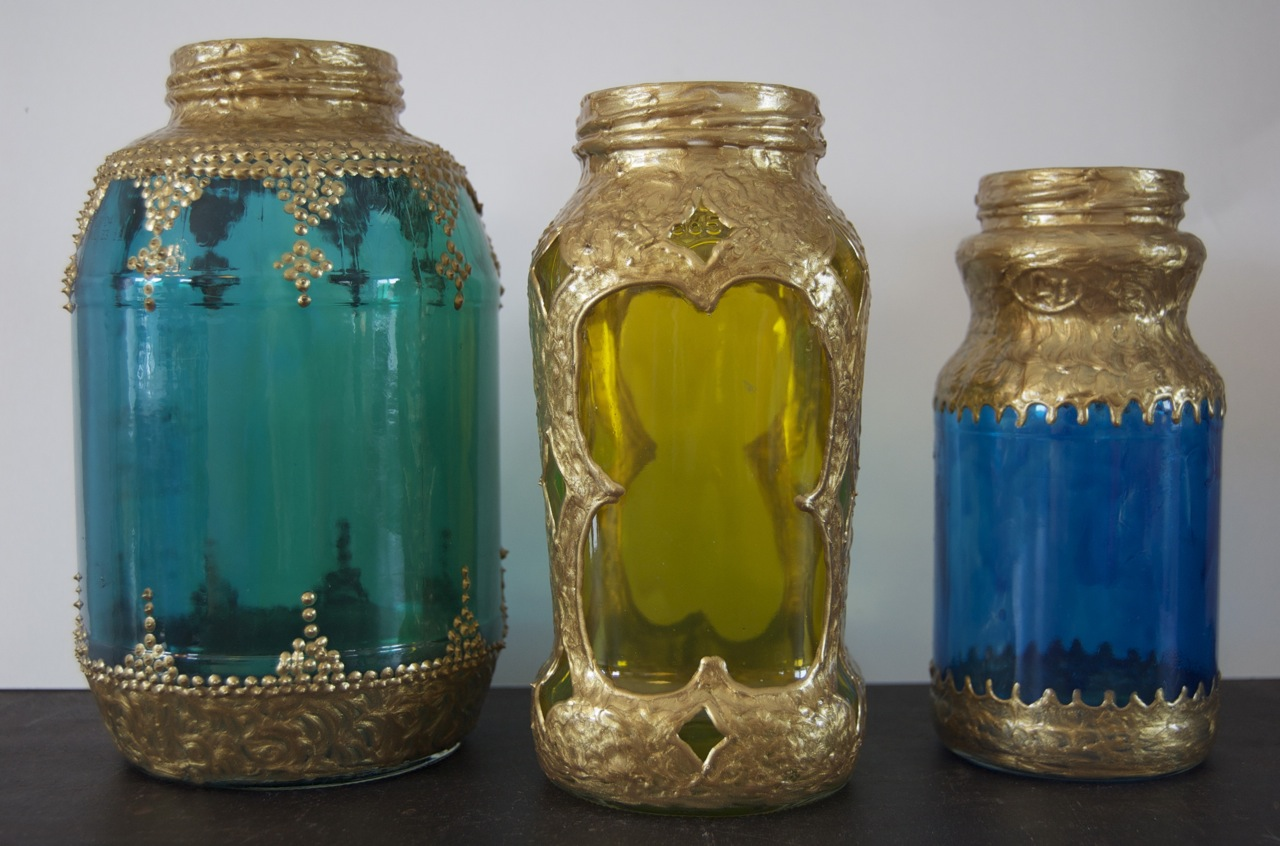 diy spaghetti sauce jar moroccan lanterns